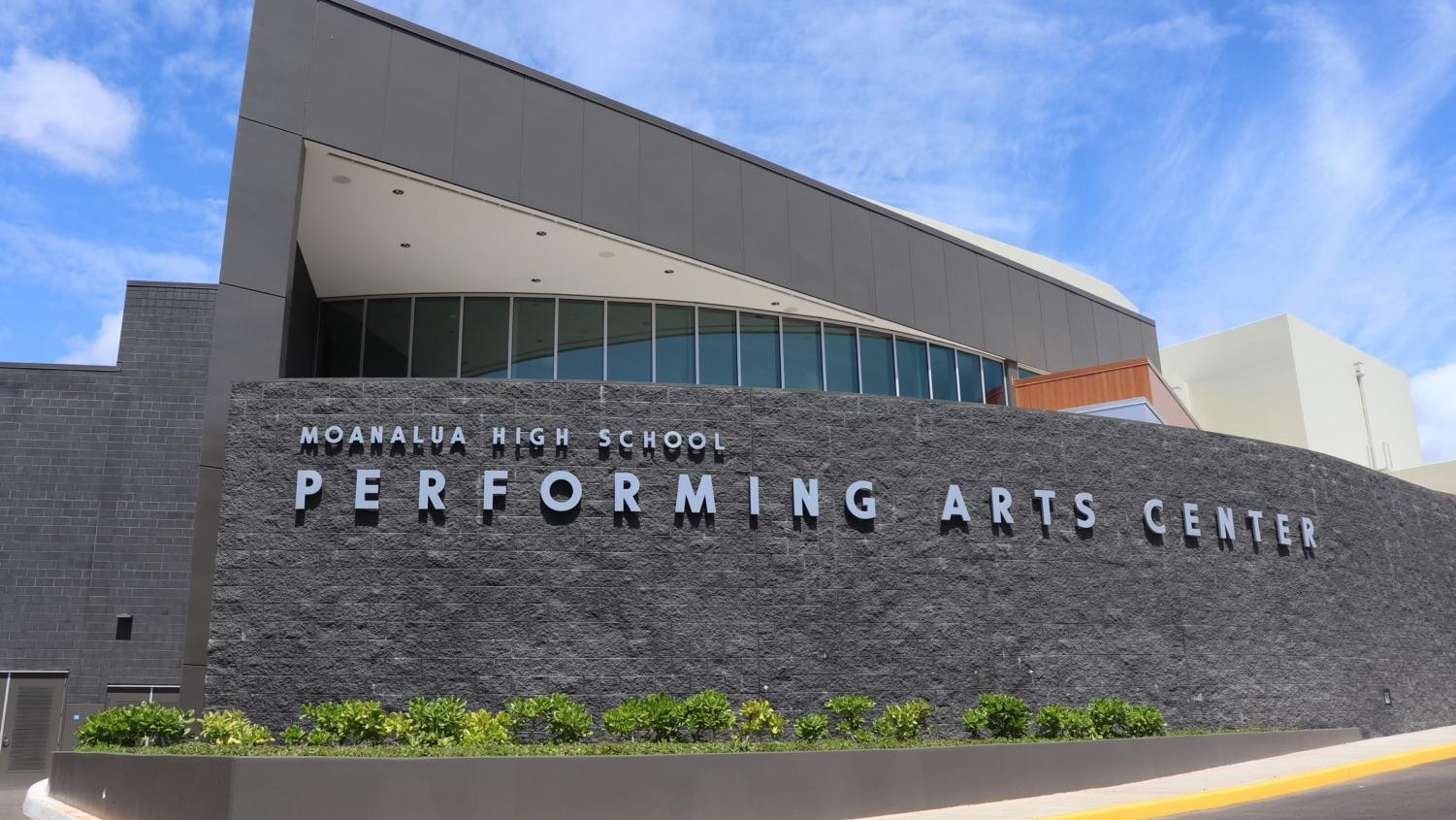 Moanalua High School Performing Arts Center Grand Opening